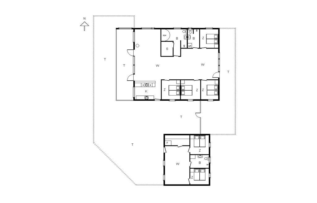 Indretning 1-14 Sommerhus 106, Tølhøj 2, DK - 9493 Saltum