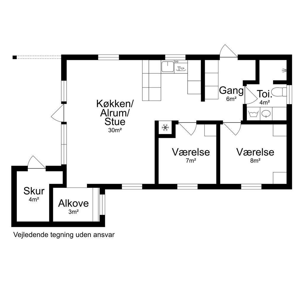 Interieur 1-17 Vakantiehuis 11191, Lynghækken 1, DK - 4500 Nykøbing Sj