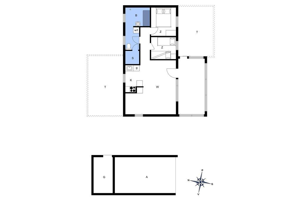 Indretning 1-13 Sommerhus 317, Mølgaardsvej 65, DK - 7700 Thisted