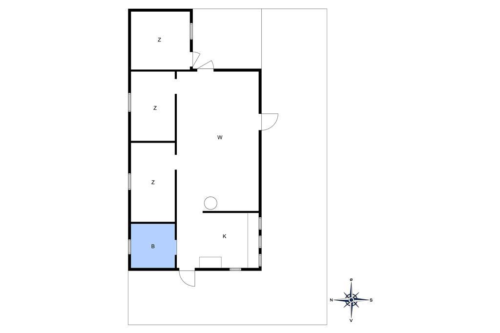 Indretning 1-10 Sommerhus 4713, Boderne 22, DK - 3720 Aakirkeby