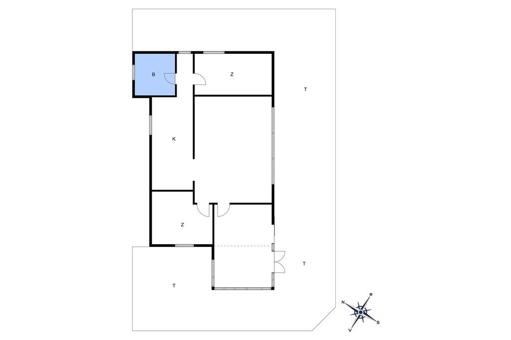 Indretning 1-10 Sommerhus 6512, Toftegårdsvej 20, DK - 3790 Hasle