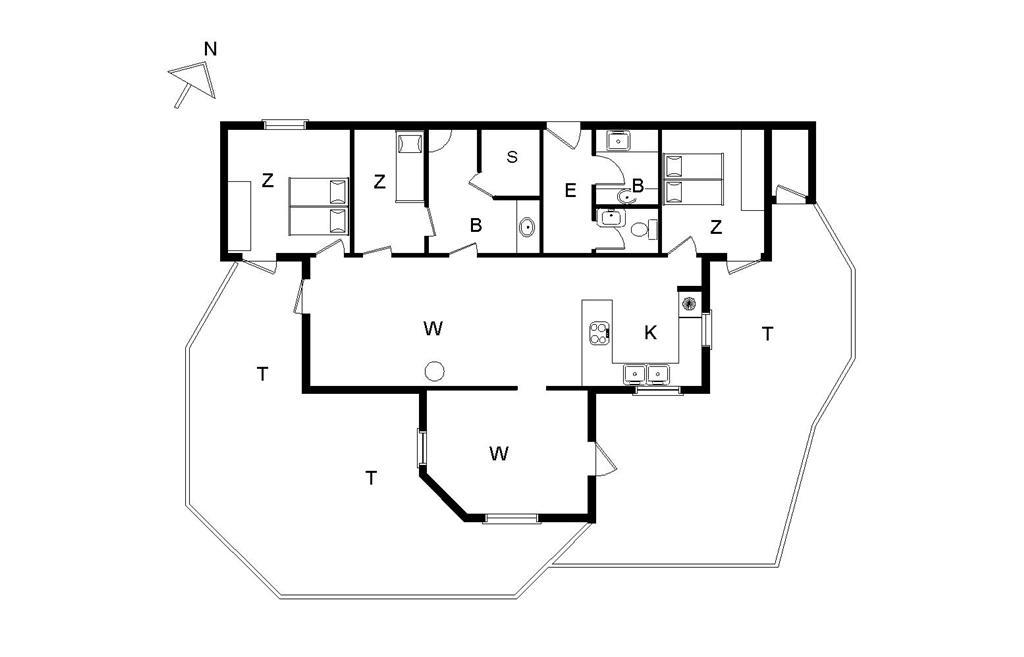 Interieur 1-14 Vakantiehuis 960, Kirkedalsvej 1, DK - 9800 Hjørring