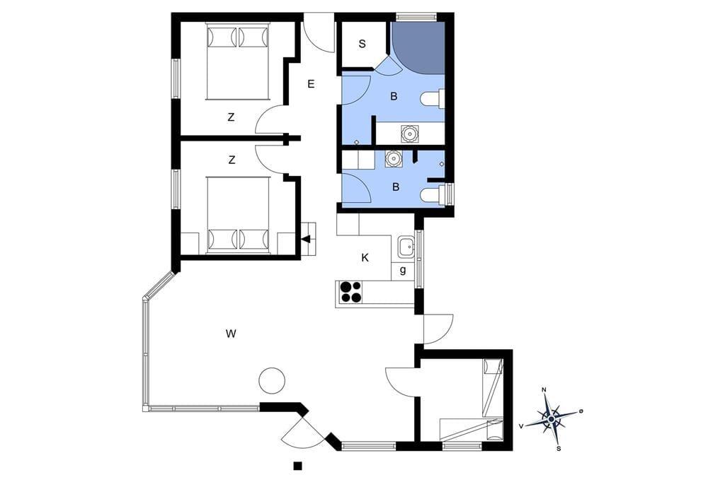 Interior 1-14 Holiday-home 791, Paa Bakken 3, DK - 9492 Blokhus