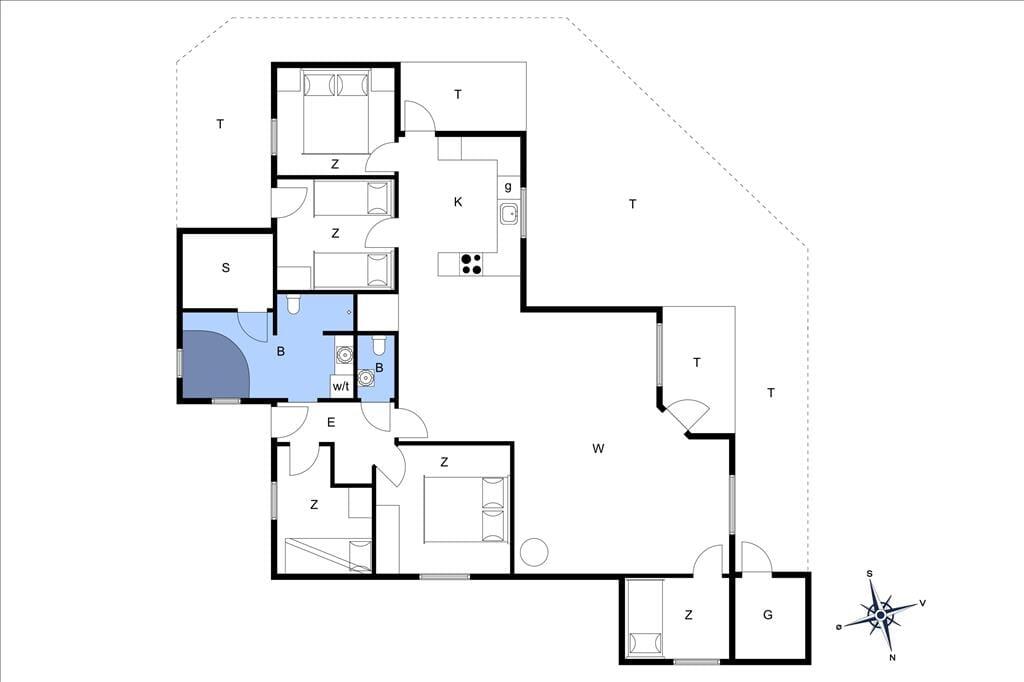 Interieur 20-11 Vakantiehuis 0144, Gertrud Rasksvej 15, DK - 6792 Rømø
