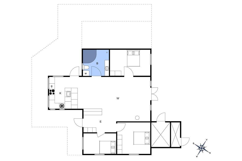 Innenausstattung 1-3 Ferienhaus F50376, Kløften 14, DK - 6200 Aabenraa