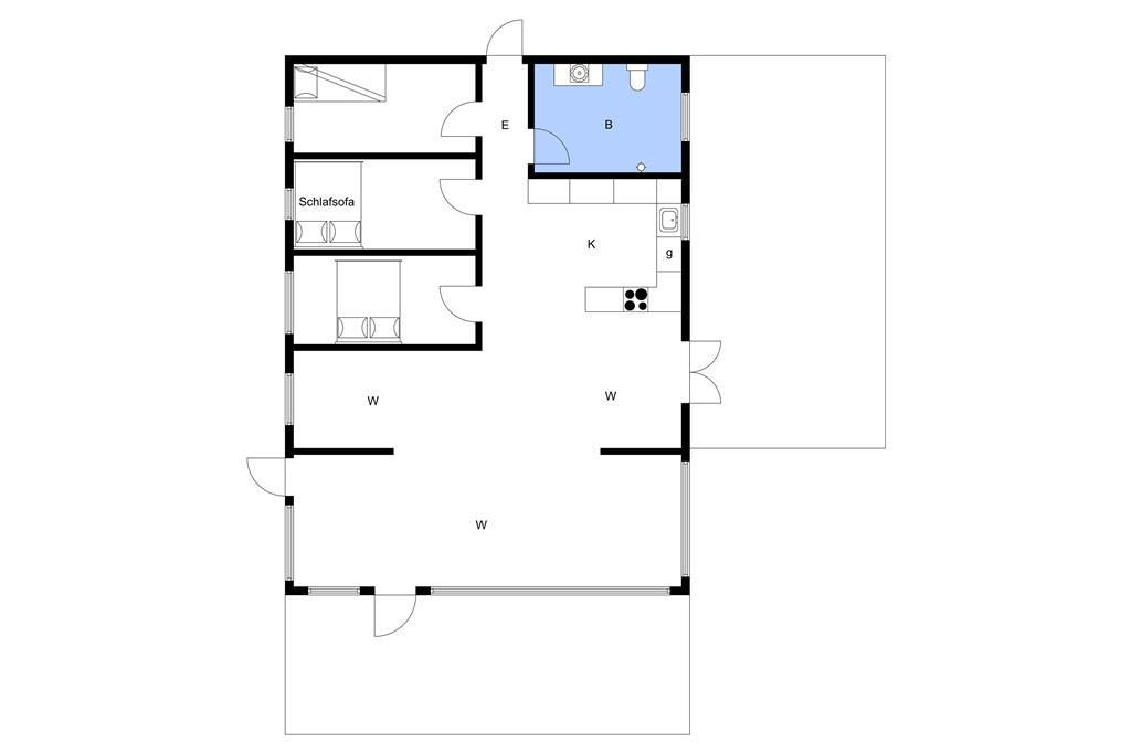 Indretning 1-3 Sommerhus M645341, Ahornvænget 1, DK - 5450 Otterup