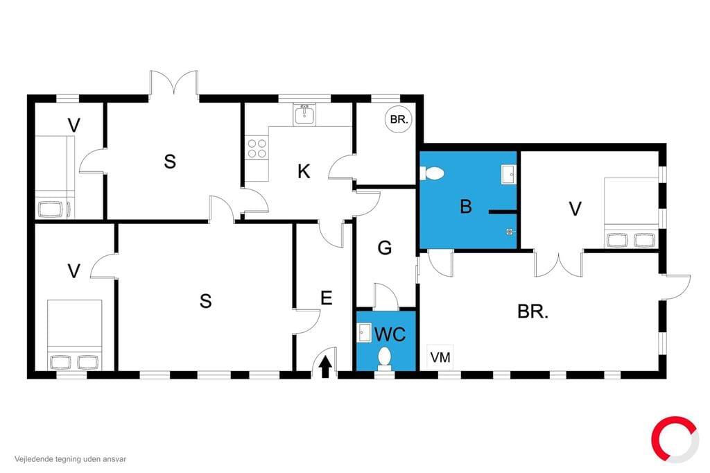 Innenausstattung 1-170 Ferienhaus 20321, Teglværksvej 10, DK - 8305 Samsø