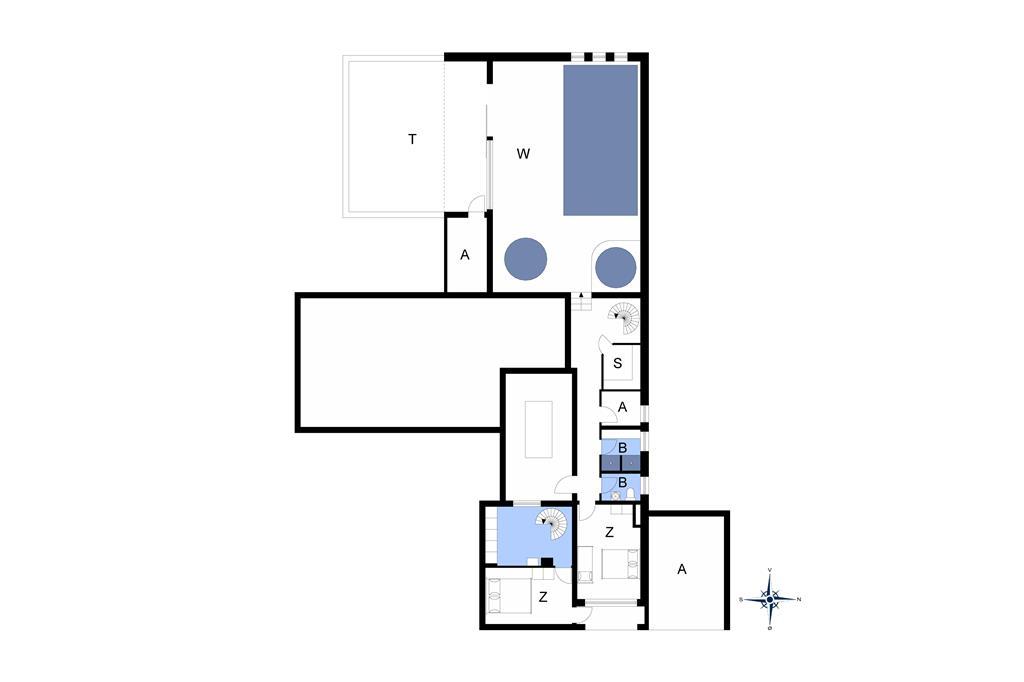 Indretning 1-14 Sommerhus 1132, Jonstrupvej 4, DK - 9492 Blokhus