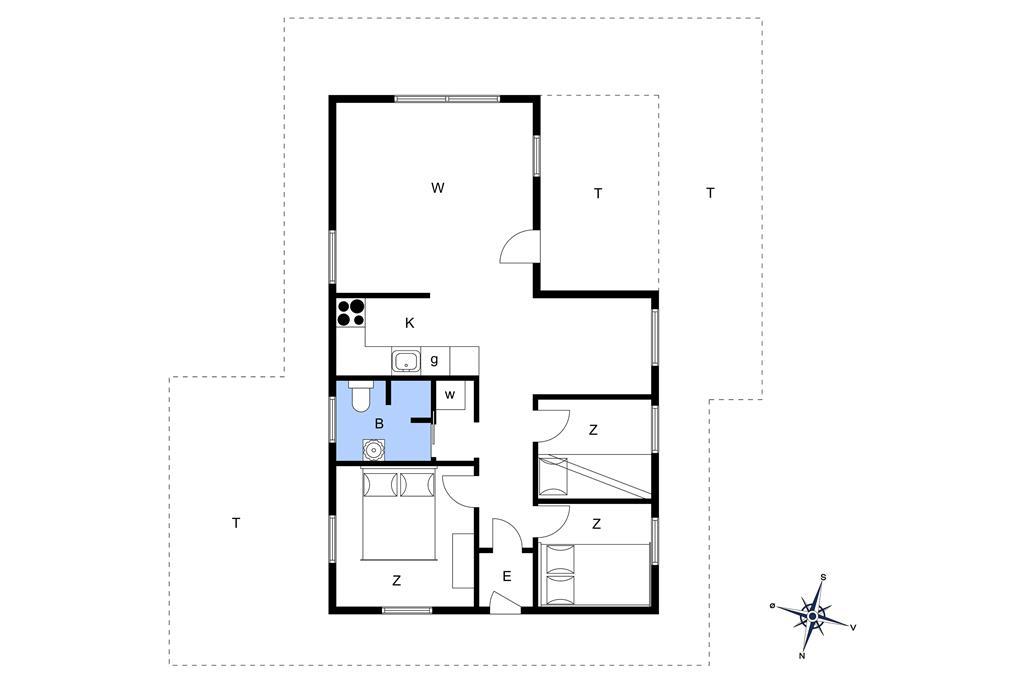 Interieur 1-14 Vakantiehuis 1485, Lodbjergvej 6, DK - 9800 Hjørring