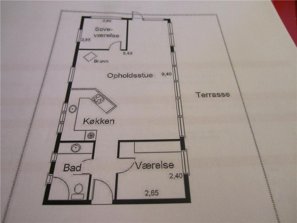 Innredning 1-23 Feirehus 8419, Brislingevej 22, DK - 8400 Ebeltoft