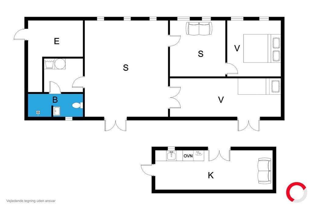 Interior 1-170 Holiday-home 20319, Søndergade 9, DK - 8305 Samsø