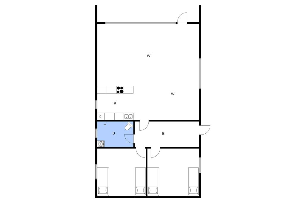 Interior 1-3 Holiday-home M70228, Hanses Ager 8, DK - 5970 Ærøskøbing