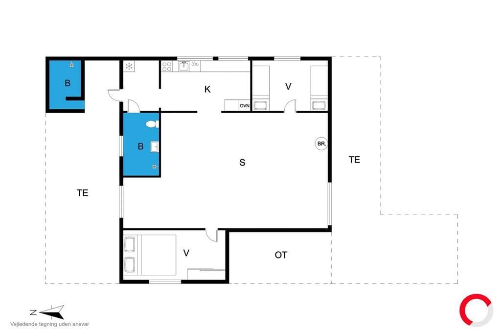 Interior 1-23 Holiday-home 8487, Brislingevej 7, DK - 8400 Ebeltoft