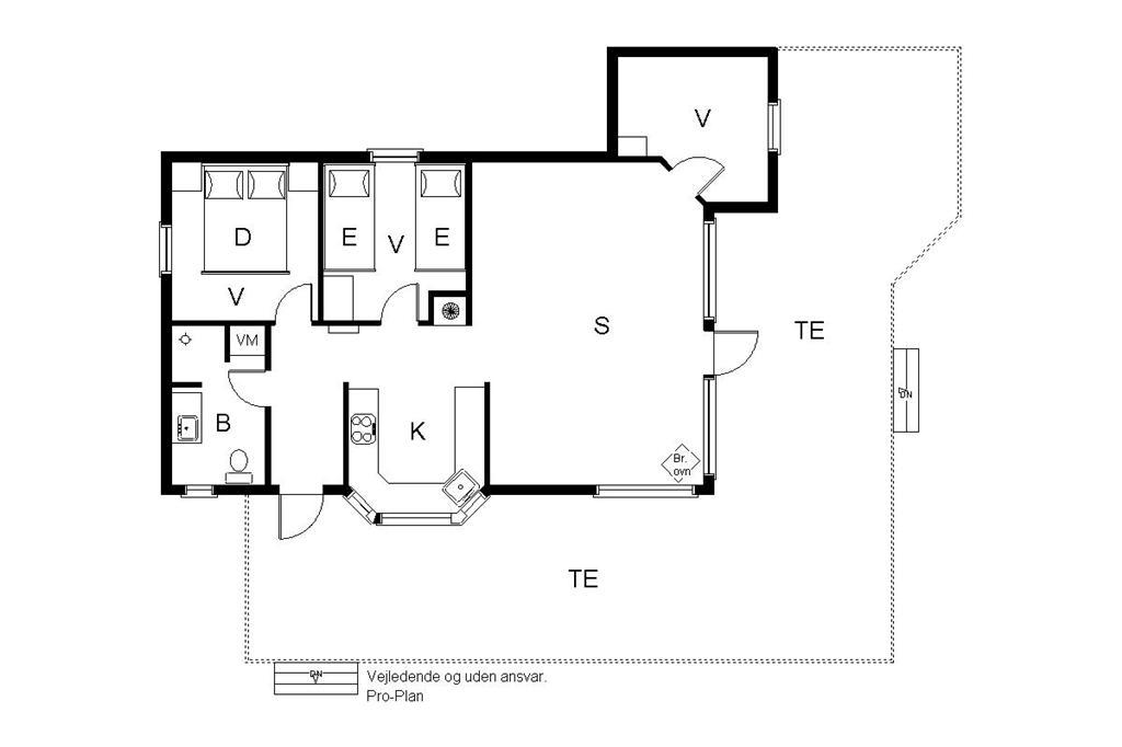 Interieur 1-19 Vakantiehuis 30545, Tværagervej 8, DK - 8300 Odder