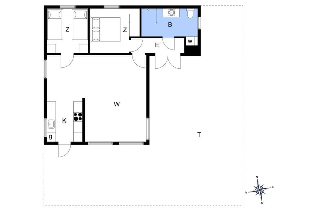 Interior 1-401 Holiday-home OH377, Brøndbækken 7, DK - 9560 Hadsund