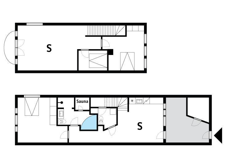 Indretning 1-175 Sommerhus 70851, Havnevej 12, DK - 6990 Ulfborg