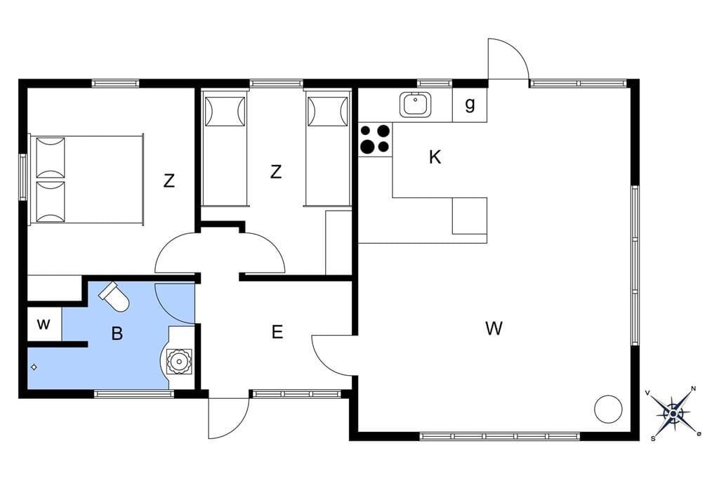 Innenausstattung 1-10 Ferienhaus 6783, Lundegårdsvej 12, DK - 3770 Allinge