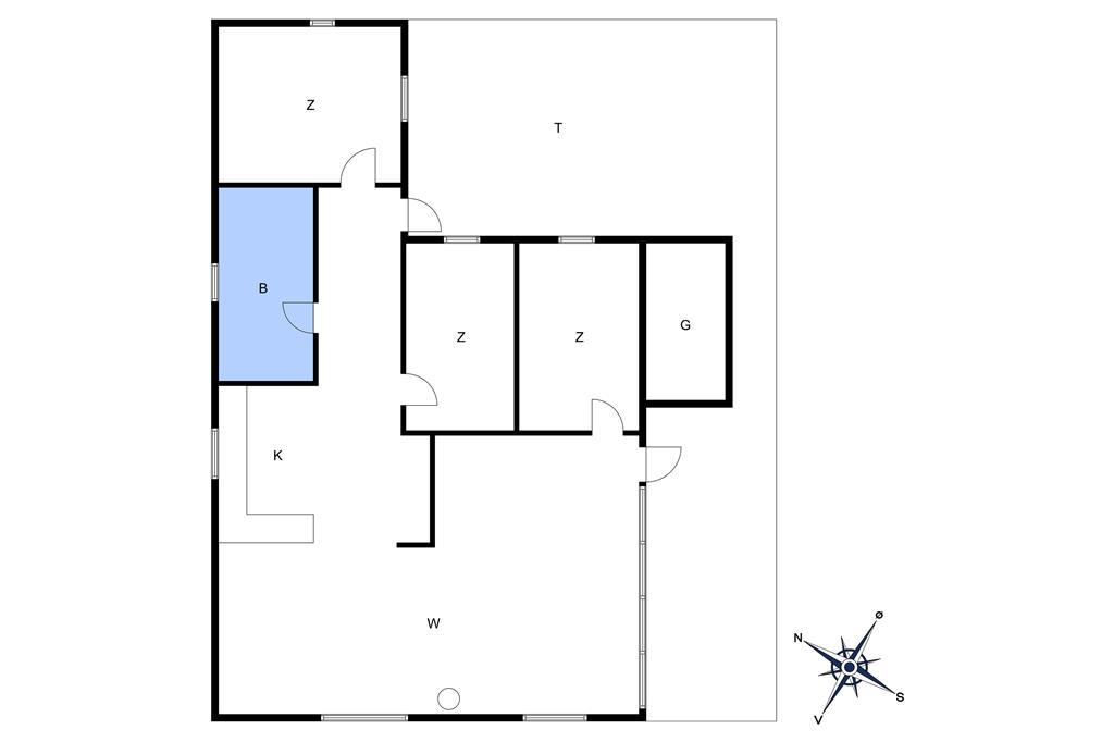 Interieur 1-10 Vakantiehuis 1411, Strandløkken 2, DK - 3720 Aakirkeby
