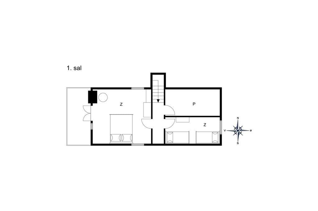 Innenausstattung 1-175 Ferienhaus 20291, Bavnebjergvej 19, DK - 6990 Ulfborg