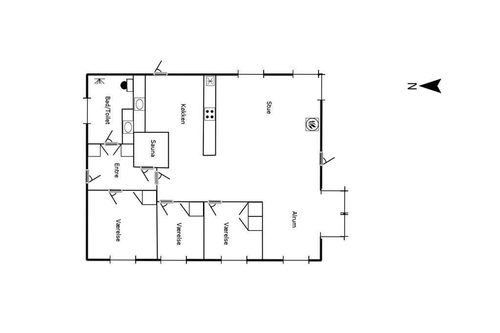 Interior 1-125 Holiday-home 2117, Hjelmevej 19, DK - 6854 Henne