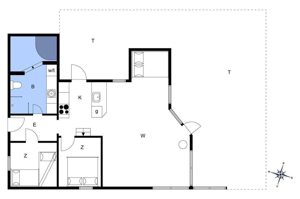 Innenausstattung 1-401 Ferienhaus OH185, Sommerland 39, DK - 9560 Hadsund