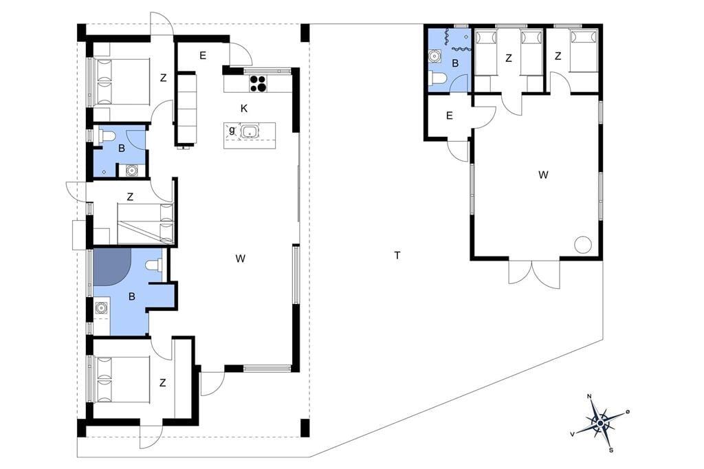 Interior 1-176 Holiday-home BL1651, Pirupshvarrevej 21, DK - 9492 Blokhus