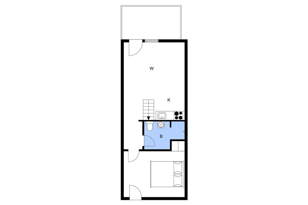 Indretning 1-3 Sommerhus M66756, Hyrdevej 85, DK - 5300 Kerteminde