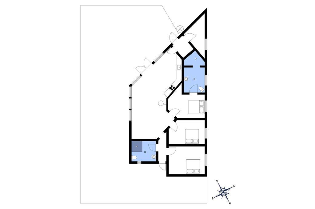 Interieur 1-10 Vakantiehuis 6661, Lundegårdsvej 7, DK - 3770 Allinge