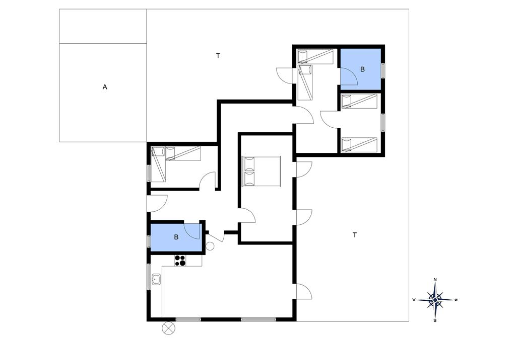 Indretning 1-10 Sommerhus 3510, Fjorden 3, DK - 3730 Nexø
