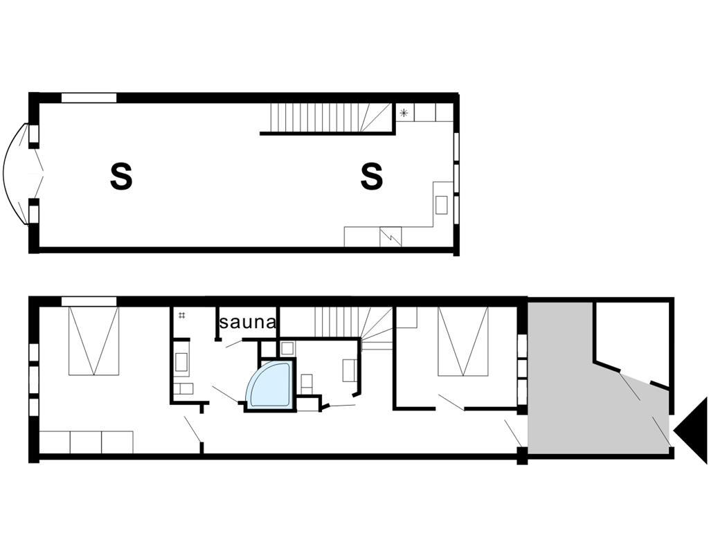Indretning 1-175 Sommerhus 70896, Havnevej 12, DK - 6990 Ulfborg