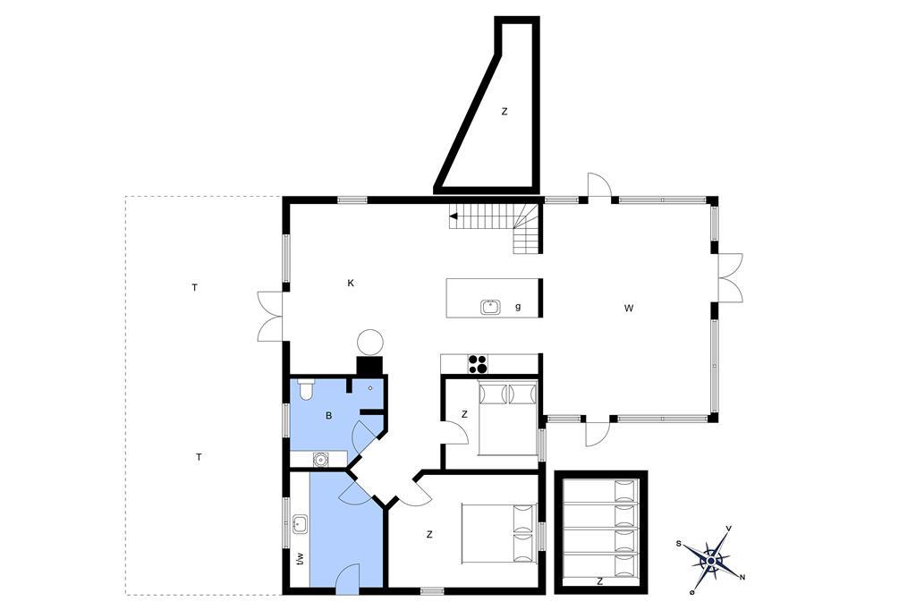 Innredning 1-23 Feirehus 8902, Berberisvej 2, DK - 8961 Allingåbro