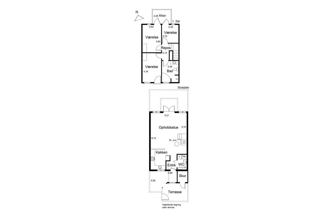 Indretning 1-19 Sommerhus 40143, Strandengen 75, DK - 7130 Juelsminde