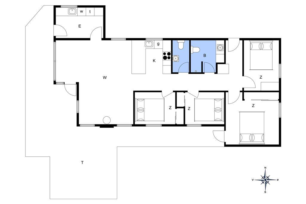 Innenausstattung 1-173 Ferienhaus BV139, Fynsland 17, DK - 6857 Blåvand