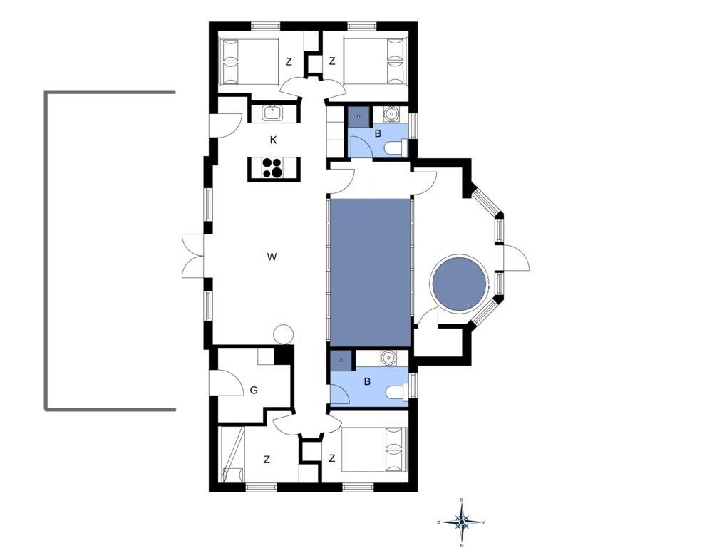 Interieur 1-20 Vakantiehuis 303, Fourmivej 3, DK - 7673 Harboøre