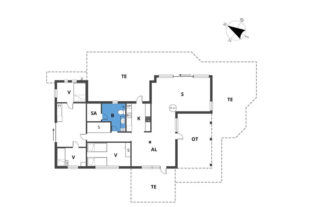 Innenausstattung 1-19 Ferienhaus 30179, Chr. Christensensvej 49, DK - 8300 Odder
