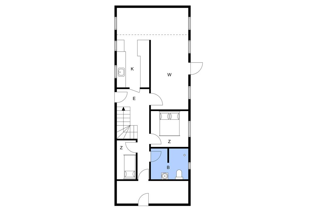 Innenausstattung 1-10 Ferienhaus 4747, Bodernevej 10, DK - 3720 Aakirkeby
