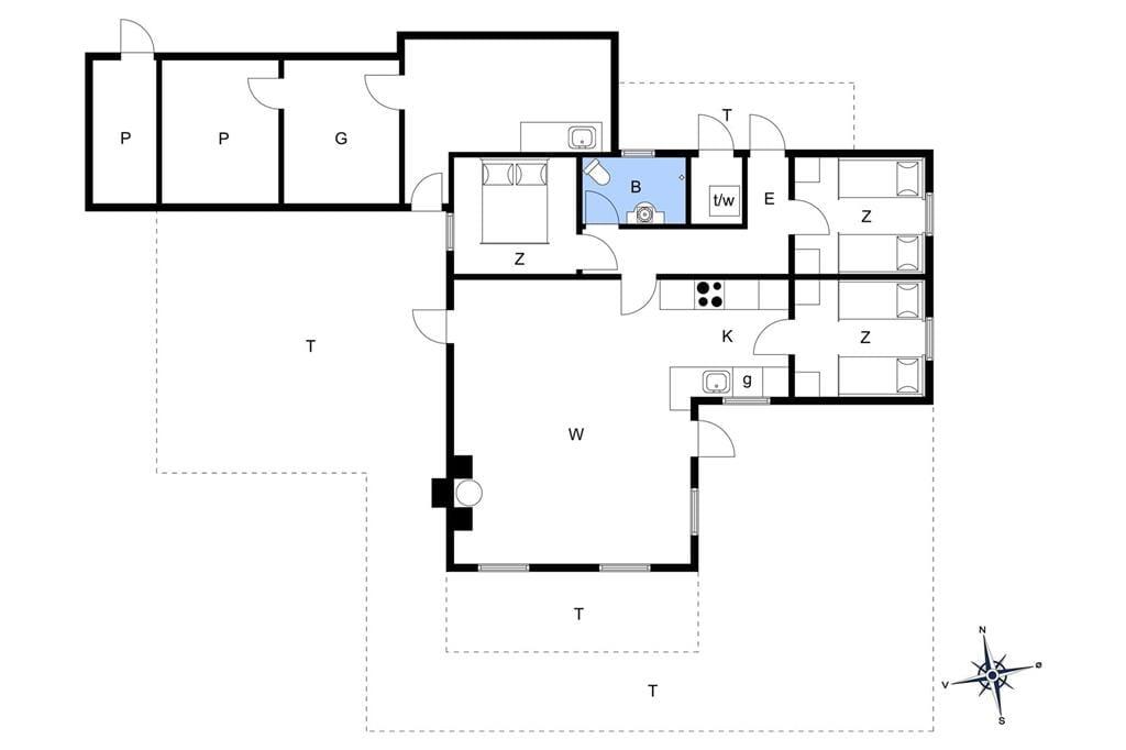Interieur 1-175 Vakantiehuis 40427, Hagevej 67, DK - 6990 Ulfborg