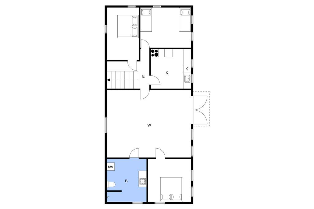 Innenausstattung 1-3 Ferienhaus L18105, Gl. Feggersundvej 118, DK - 7742 Vesløs