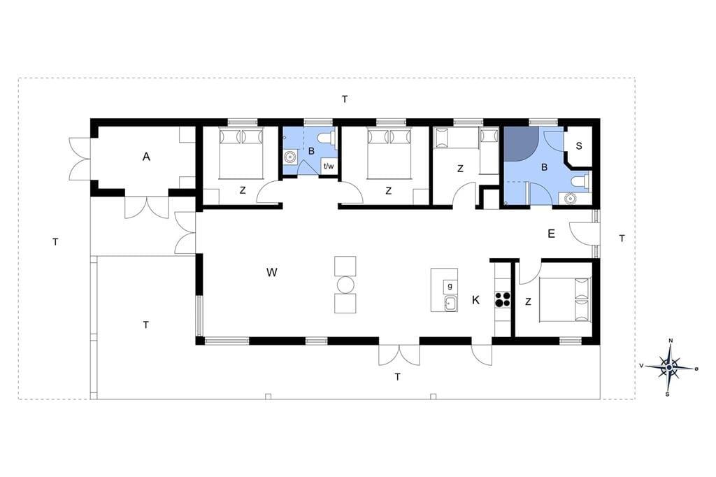 Interieur 1-14 Vakantiehuis 1650, Tølhøj 19, DK - 9493 Saltum