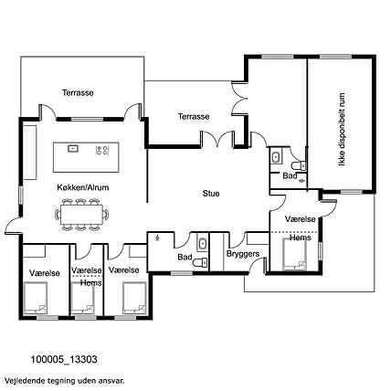 Innenausstattung 1-17 Ferienhaus 13303, Høve Stræde 42, DK - 4550 Asnæs