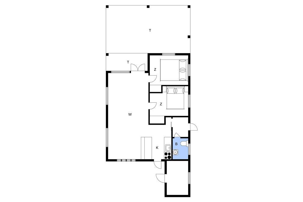 Indretning 1-1336 Sommerhus 872-N, Reinsholmvej 15, DK - 3370 Melby