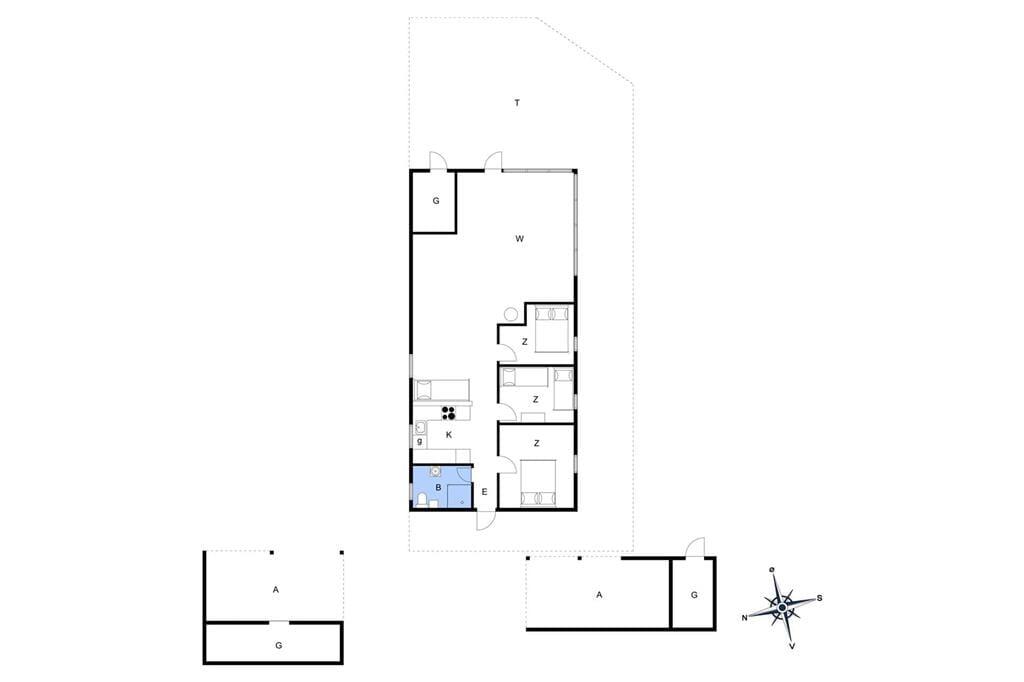 Innenausstattung 1-3 Ferienhaus L10317, Strandskadevej 1, DK - 7760 Hurup
