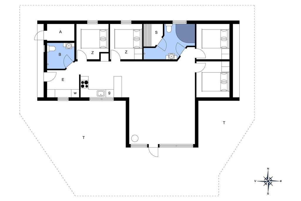 Interieur 1-176 Vakantiehuis BL1532, Gyldenrisvej 14, DK - 9492 Blokhus