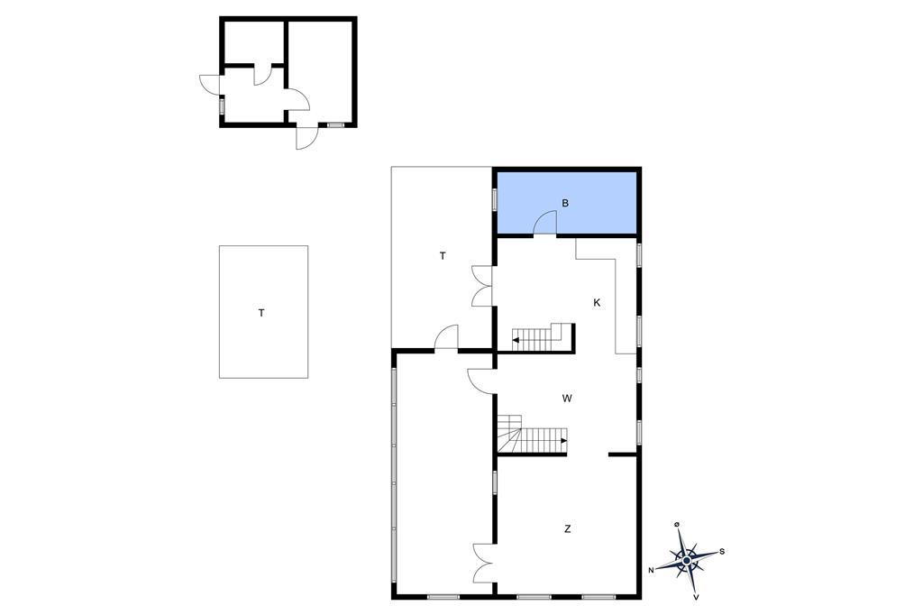Innenausstattung 1-10 Ferienhaus 5400, Mosedalsvej 10, DK - 3740 Svaneke