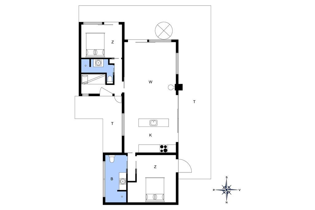Indretning 1-10 Sommerhus 1328, Poserevænget 34, DK - 3720 Aakirkeby