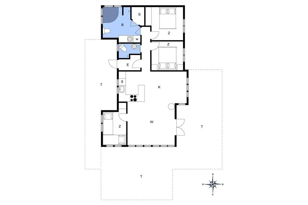 Interieur 1-14 Vakantiehuis 1369, Nordvestvej 30, DK - 9493 Saltum