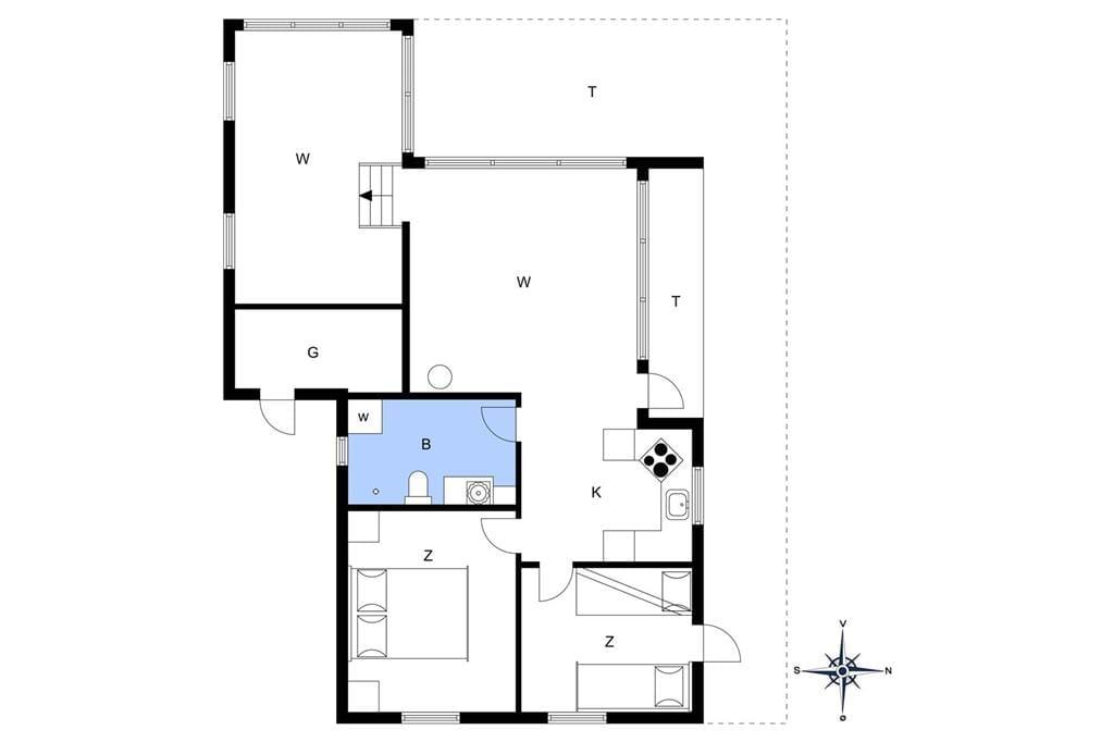 Innenausstattung 1-177 Ferienhaus LK1203, Kettrup Bjerge Vej 54, DK - 9480 Løkken