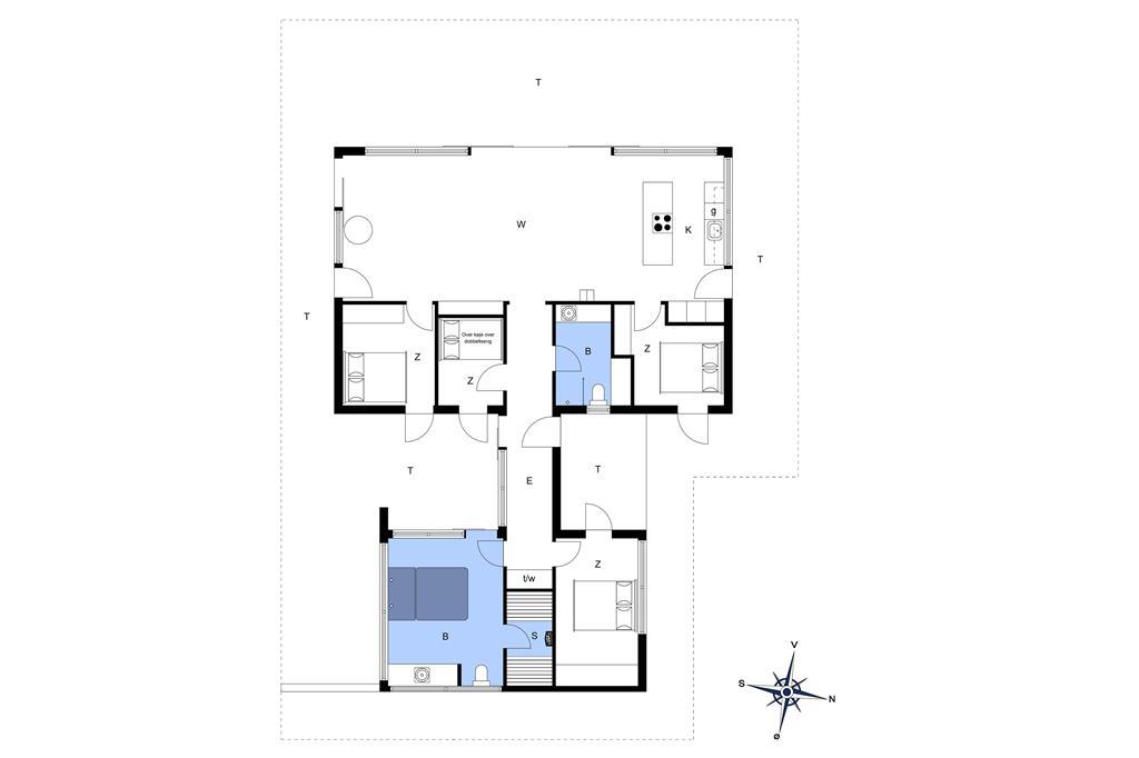Innenausstattung 1-177 Ferienhaus LK1037, Herthasvej 6, DK - 9480 Løkken