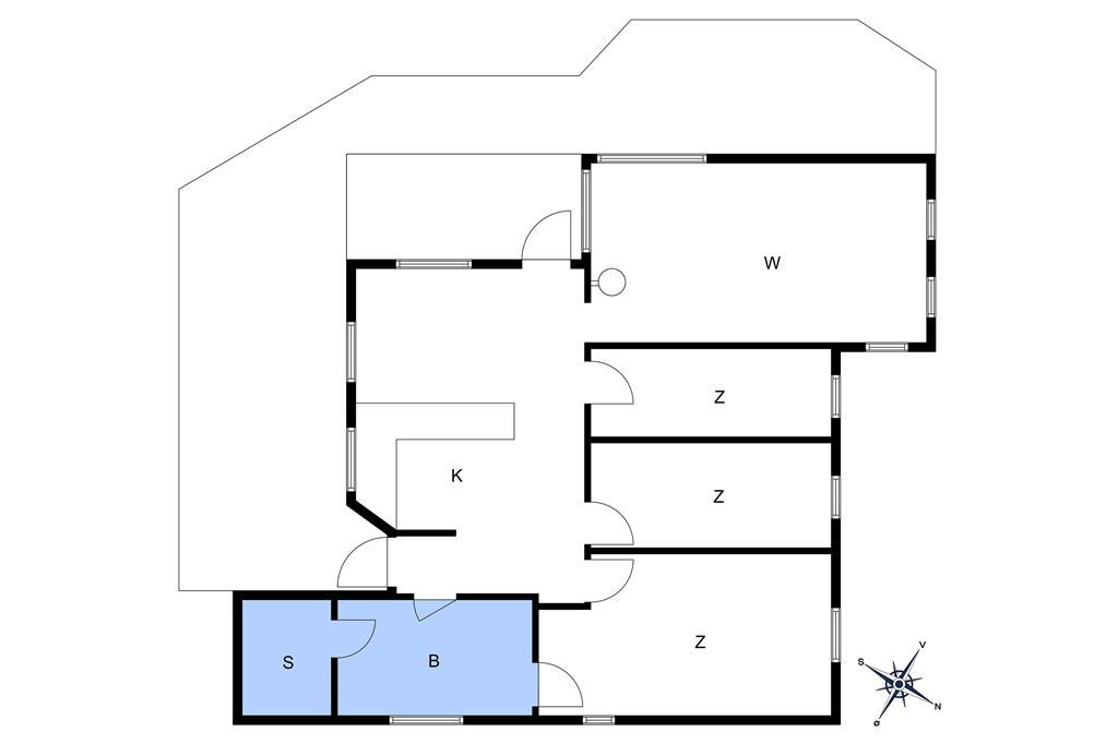 Innenausstattung 1-10 Ferienhaus 2648, Skovsangervej 16, DK - 3730 Nexø