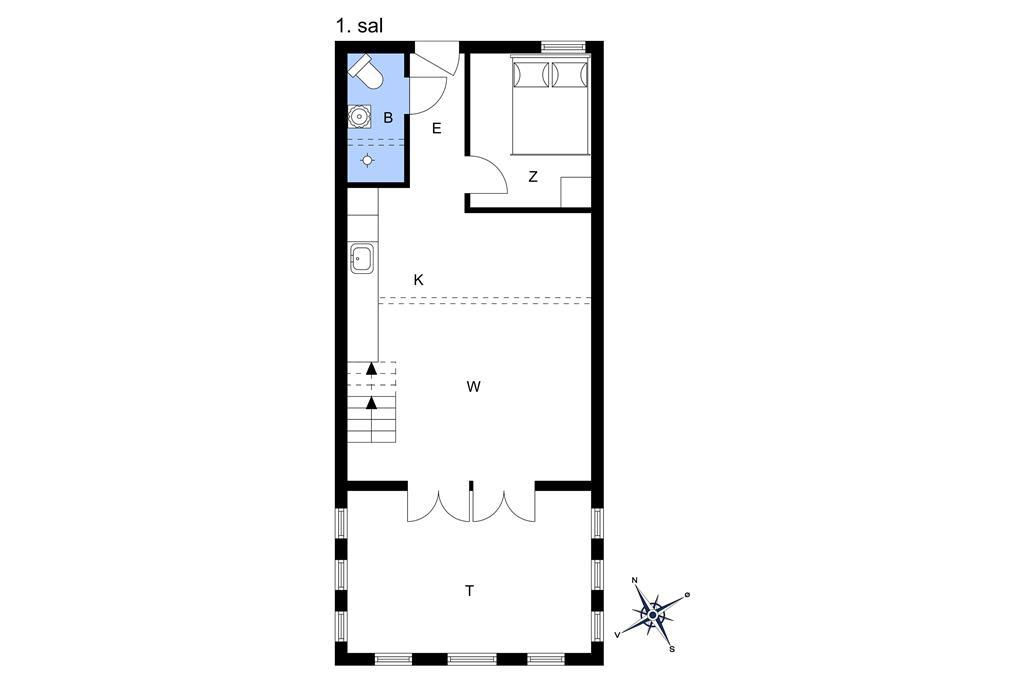 Indretning 1-13 Sommerhus 316, Havnevej 1, DK - 7770 Vestervig